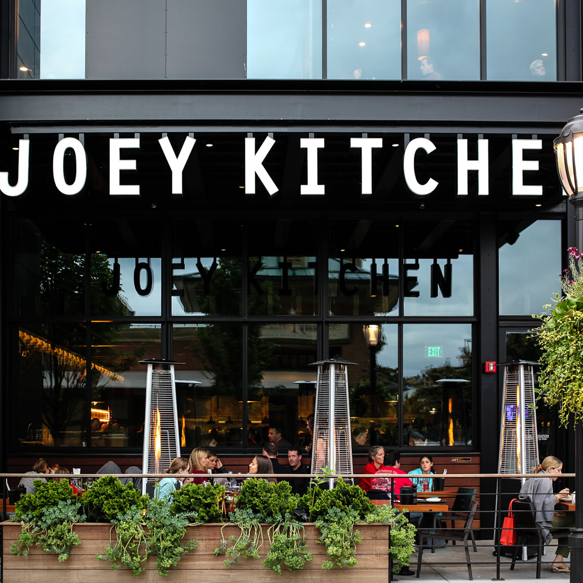 With Two Large Exterior Patios Guests Can Also Enjoy Outdoor Dining Nearly All Year Round Joey Kitchen Is The Us Flagship Property For Restaurants